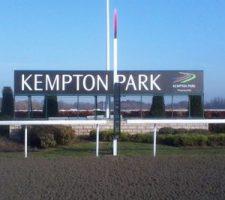 Kempton Park Racecourse Sign