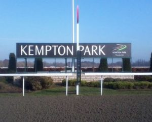 Kempton Park Racecourse Sign