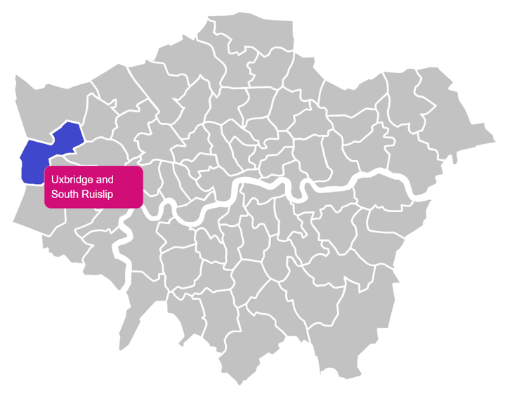 Uxbridge and South Ruislip Constituency