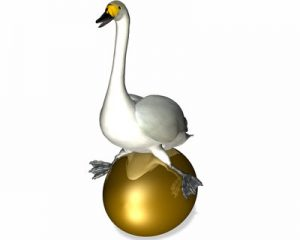 Goose Laying Golden Egg