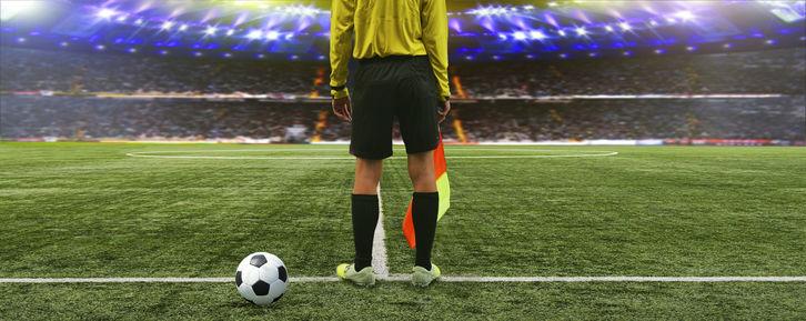 Start of Football Match