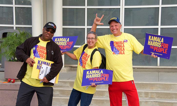 Kamala Harris Supporters