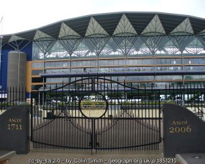 Ascot Racecourse Entrance