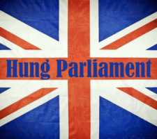 Hung Parliament Union Jack Flag