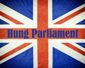 Hung Parliament Union Jack Flag