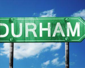 Durham Sign Post
