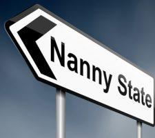 Nanny State Roadsign