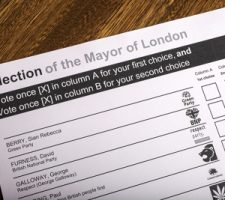 Election for the Mayor of London