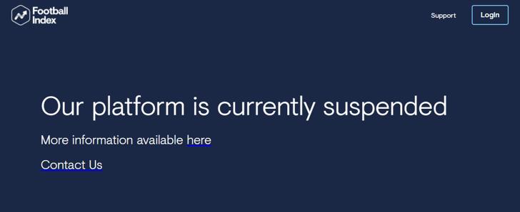 Football Index Screenshot Suspended Platform