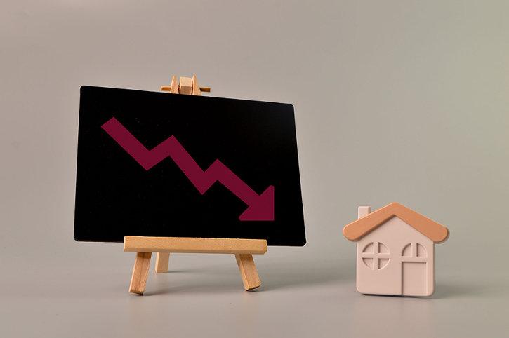 House Prices Decreasing
